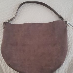 Slouchy shoulder tote
